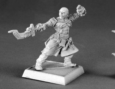 Sajan, Iconic Monk - Pathfinder Miniatures - Reaper Miniatures