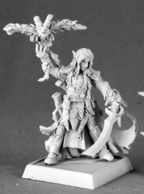 Seltyiel Iconic Eldritch Knight - Pathfinder Miniatures - Reaper Miniatures