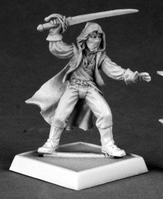 Blackjack - Pathfinder Miniatures - Reaper Miniatures