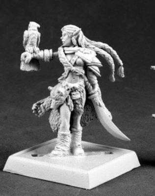 Nature Warden - Pathfinder Miniatures - Reaper Miniatures
