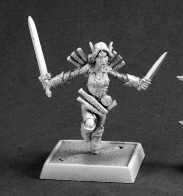 Merisiel, Iconic Elf Rogue (Version 2) - Pathfinder Miniatures - Reaper Miniatures