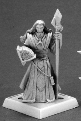 Khalib, Runelord Apprentice - Pathfinder Miniatures - Reaper Miniatures