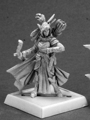 Shalelu (version 2) - Pathfinder Miniatures - Reaper Miniatures
