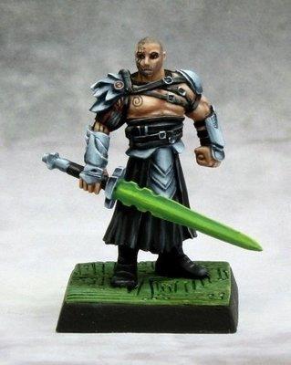 Technic League Captain - Pathfinder Miniatures - Reaper Miniatures