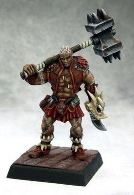 Shoanti Barbarian - Pathfinder Miniatures - Reaper Miniatures