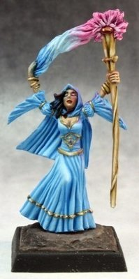 Arcanamirim Wizard - Pathfinder Miniatures - Reaper Miniatures