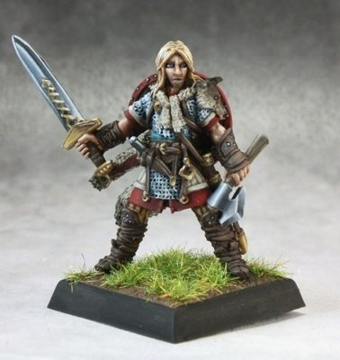 Ulf Gormundr - Pathfinder Miniatures - Reaper Miniatures