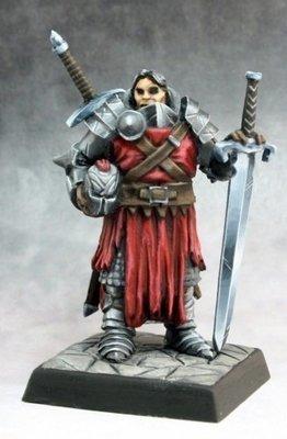 Mendevian Crusader - Pathfinder Miniatures - Reaper Miniatures