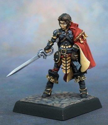 Jirelle, Iconic Swashbuckler - Pathfinder Miniatures - Reaper Miniatures
