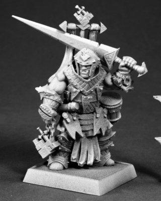 Oloch, Iconic Warpriest - Pathfinder Miniatures - Reaper Miniatures
