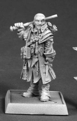 Quinn, Iconic Investigator - Pathfinder Miniatures - Reaper Miniatures
