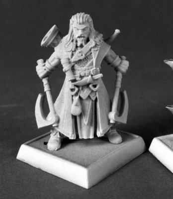 Hakon, Iconic Skald - Pathfinder Miniatures - Reaper Miniatures