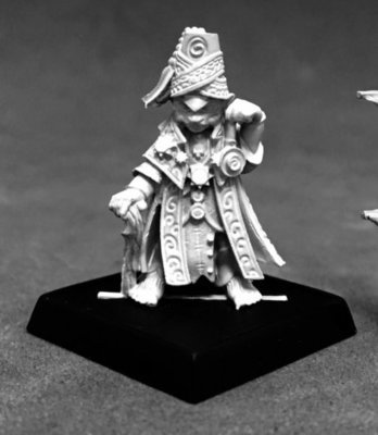 Meligaster, Iconic Mesmerist - Pathfinder Miniatures - Reaper Miniatures