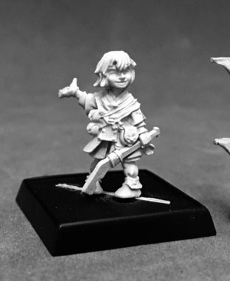 Yoon, Iconic Kineticist - Pathfinder Miniatures - Reaper Miniatures