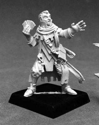 Erasmus, Iconic Medium - Pathfinder Miniatures - Reaper Miniatures