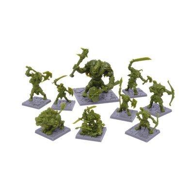 Dungeon Saga: Green Rage Miniatures Set - Mantic Games