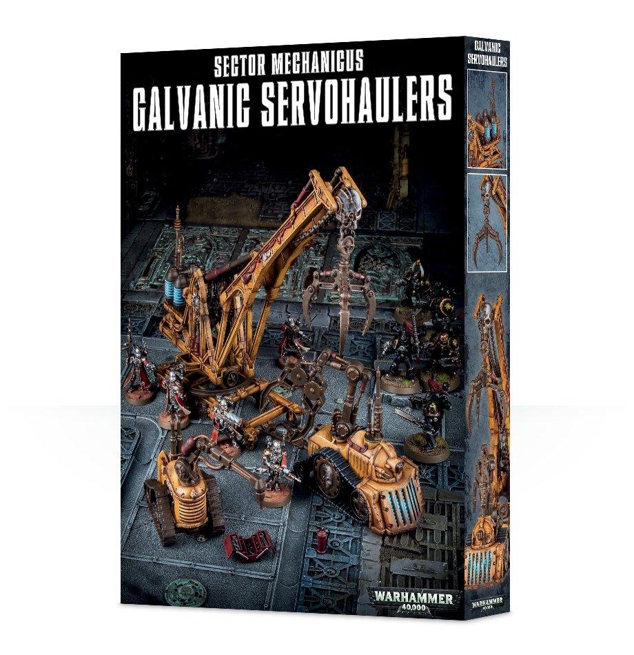 SECTOR MECHANICUS:GALVANIC SERVO-HAULERS - Gelände - Games Workshop