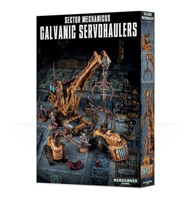 SECTOR MECHANICUS:GALVANIC SERVO-HAULERS - Gelände - Games Workshop