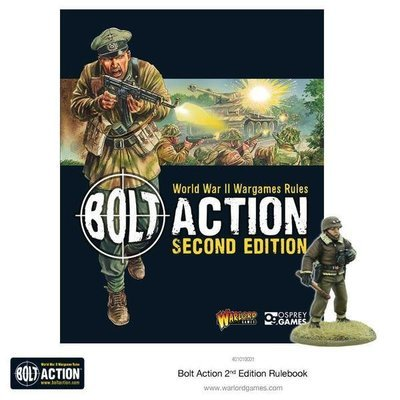 Bolt Action 2 Rulebook Second Edition - English