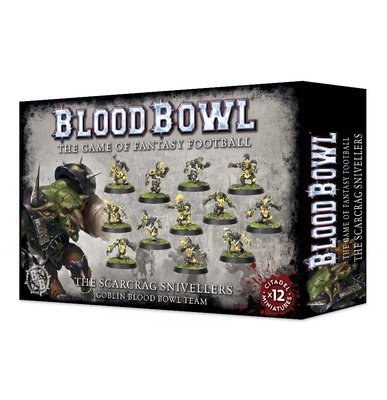 The Scarcrag Snivellers - Blood Bowl - Games Workshop
