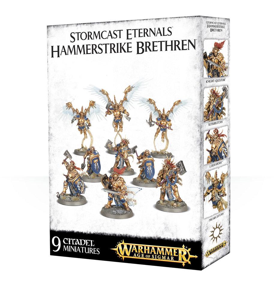 Stormcast Eternals Hammerstrike Brethren - Warhammer Age of Sigmar Skirmish - Games Workshop