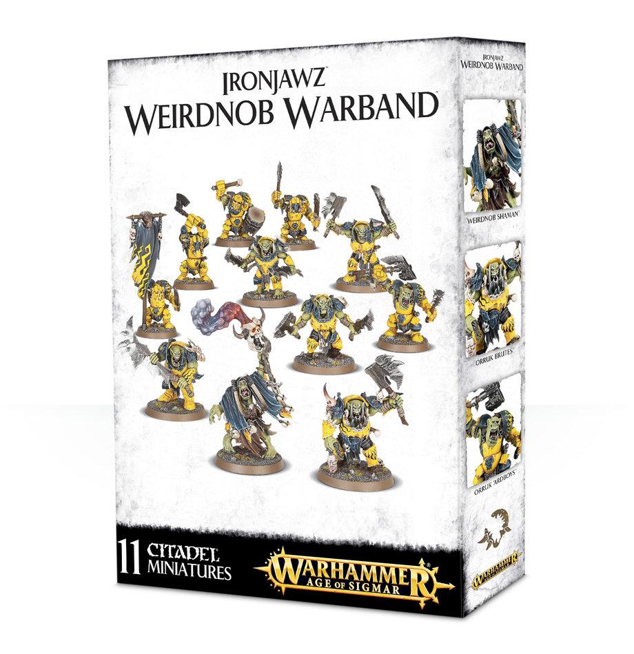 Ironjawz Weirdnob Warband - Warhammer Age of Sigmar Skirmish - Games Workshop
