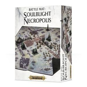 BATTLE MAT: SOULBLIGHT NECROPOLIS - Warhammer Age of Sigmar - Games Workshop