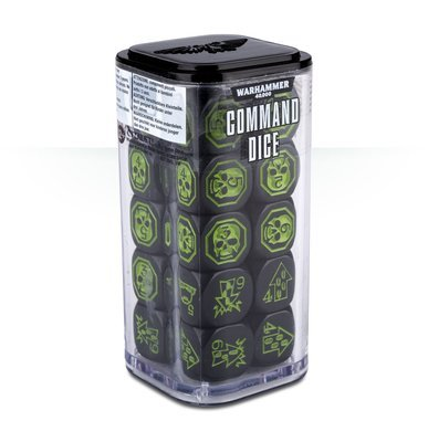 WARHAMMER 40000: COMMAND DICE Kommandowürfel - Games Workshop