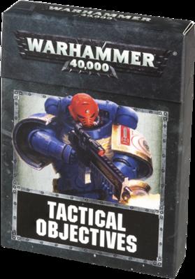WH40K: Taktische Missionsziele . (8. Edition!)  - TACTICAL OBJECTIVES CARDS (DEUTSCH) - Games Workshop
