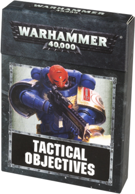 WH40K: TACTICAL OBJECTIVES CARDS (ENGLISH) (8th Edition!) - Games Workshop