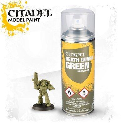 CITADEL DEATH GUARD GREEN SPRAY - Citadel Spray - Games Workshop