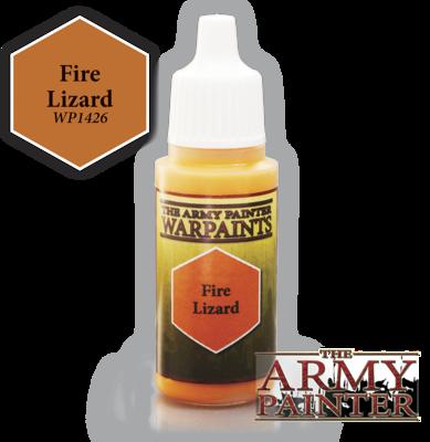 Fire Lizard - Army Painter Warpaints