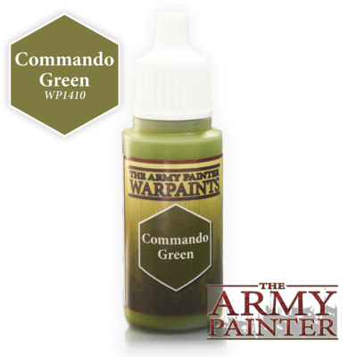 Commando Green - Army Painter Warpaints
