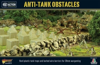 Anti-Tank Obstacles - Bolt Action