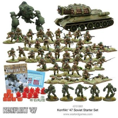 Soviet Konflikt 47 Starter Set (E) - Warlord Games