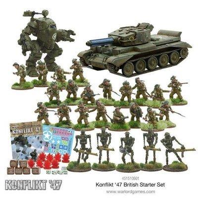 British Konflikt 47 Starter Set (E) - Warlord Games