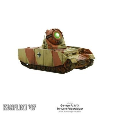 German Pz IV-X - Konflikt '47 - Warlord Games