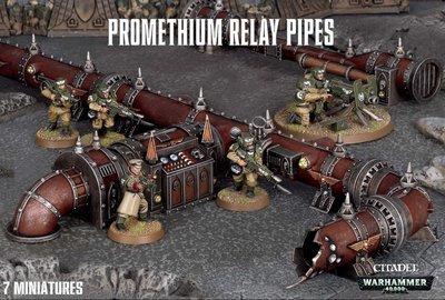 Promethium Relay Pipes - Gelände - Games Workshop