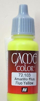 Fluo Yellow - Game Color Farbe - Vallejo