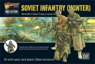 Soviet Winter Infantry plastic box set - Soviet Union - Bolt Action