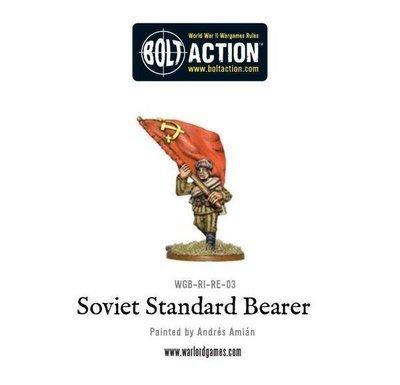 Soviet standard bearer - Soviet Bolt Action - Warlord Games