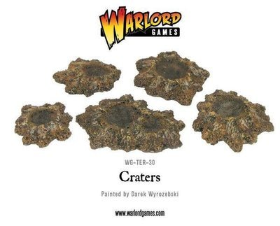 Shell holes and craters - Warlord Games