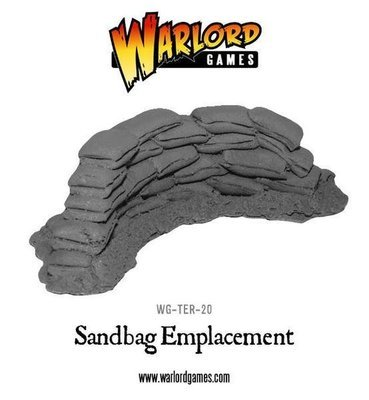 Sandbag Emplacement - Warlord Games