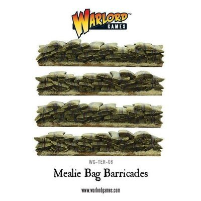 Anglo-Zulu War Mealie Bag barricade set - Warlord Games