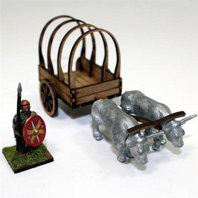 Roman Ox cart - Ochsenkarren - Warlord Games