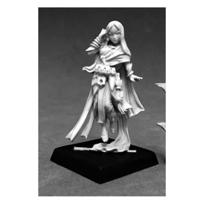 Rivani, Iconic Psychic - Pathfinder Miniatures - Reaper Miniatures