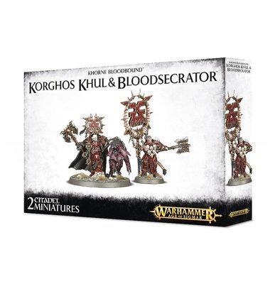 Korghos Khul & Bloodsecrator - Khorne - Age of Sigmar - Games Workshop