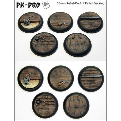 30mm Relief Decking Set Bases 5x