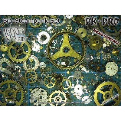 CP-Big-Steampunk-Set-1900er-Serie-25g - Zahnräder