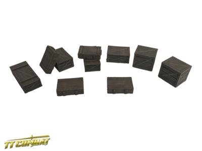 Wooden Crates Set - City Scenics - TT-Combat